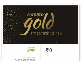 zomato gold membership trick