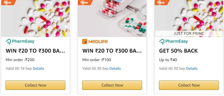 Amazon Pay Medicine Offer